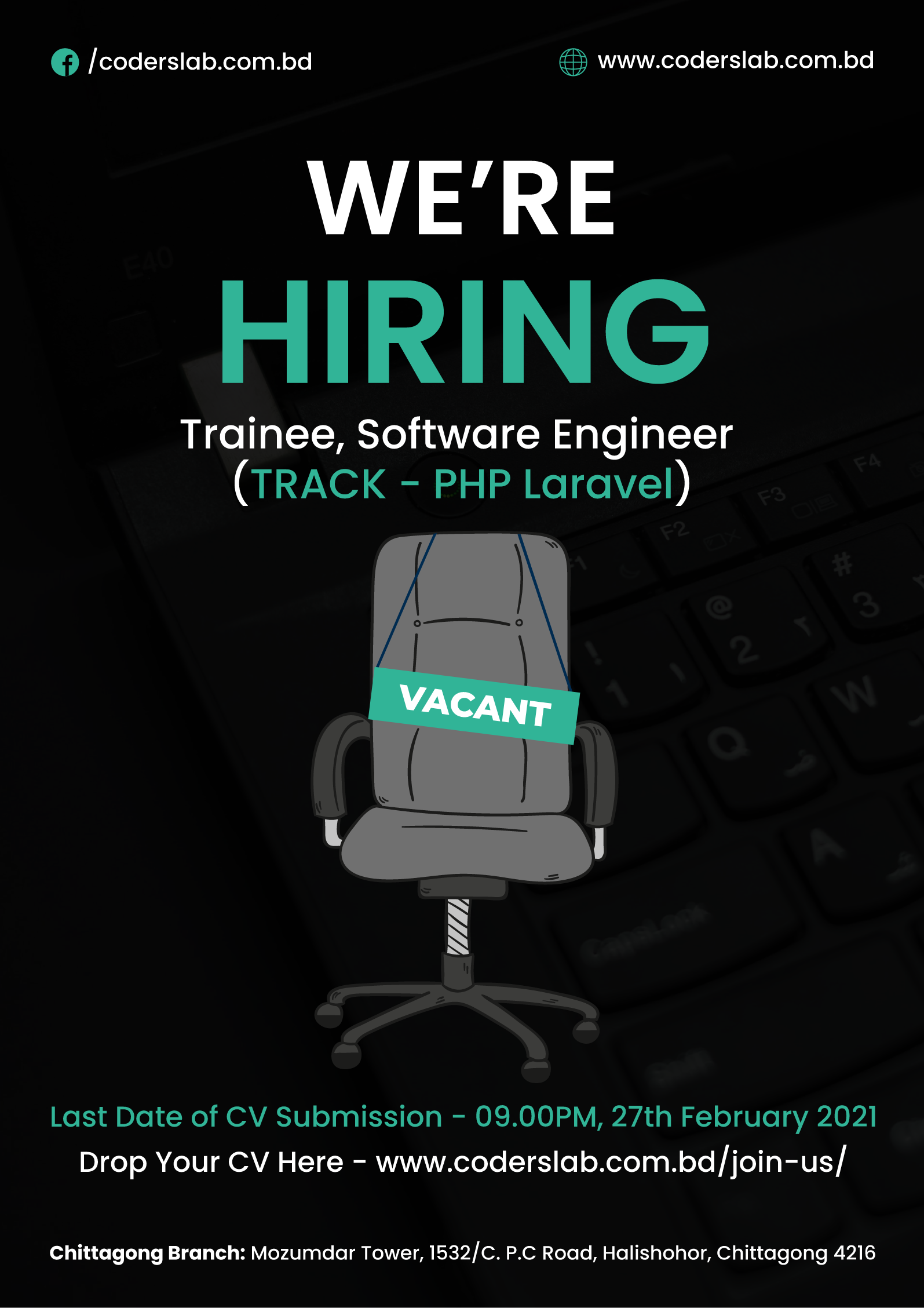 Apply For Trainee Software Engineer
