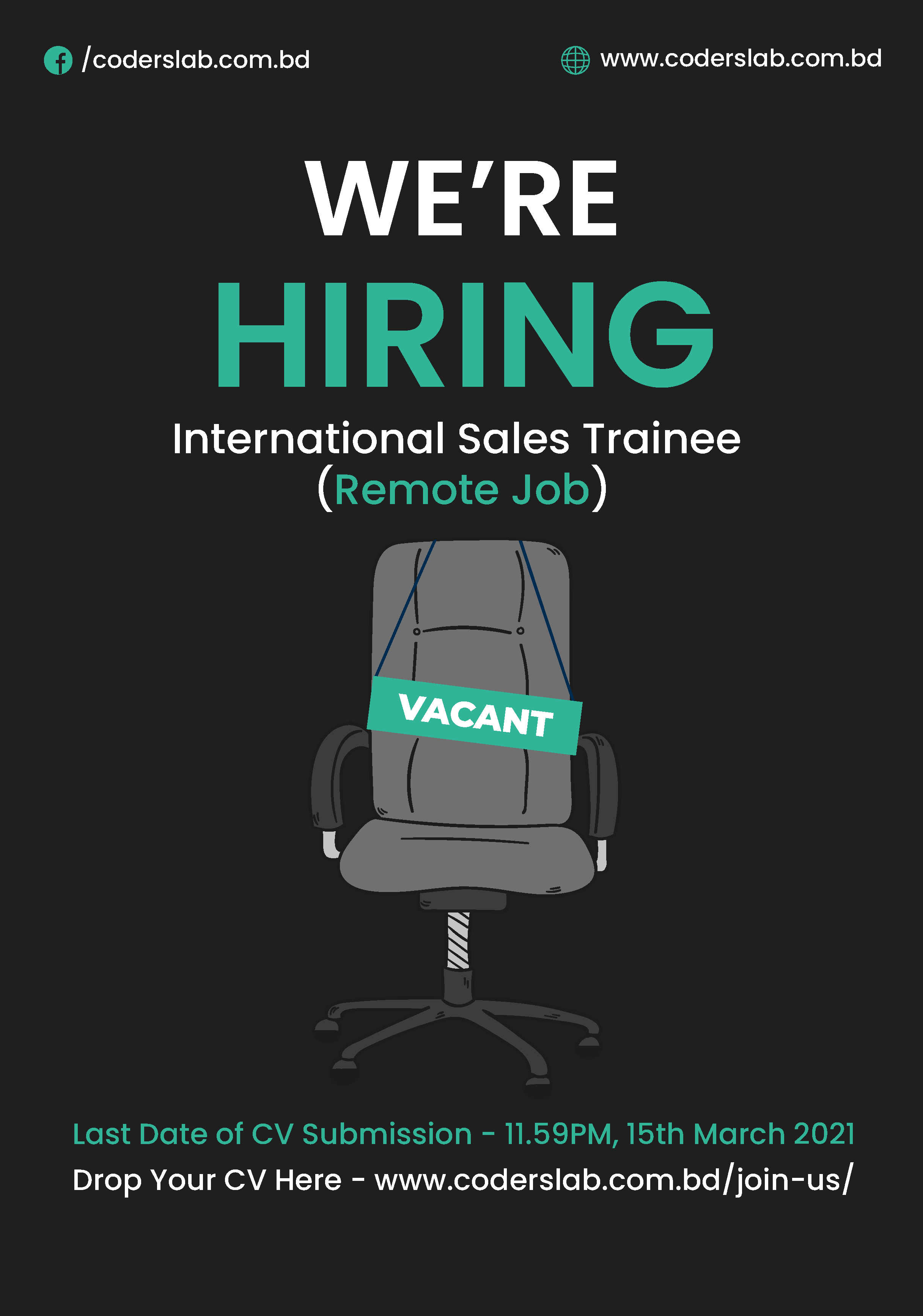 Apply for International Sales Trainee