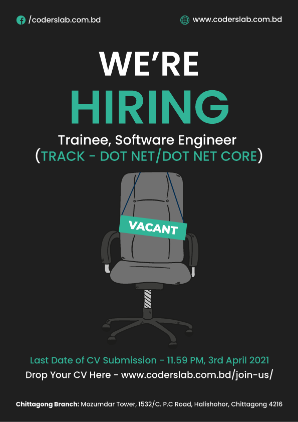 Apply for Trainee, Software Engineer